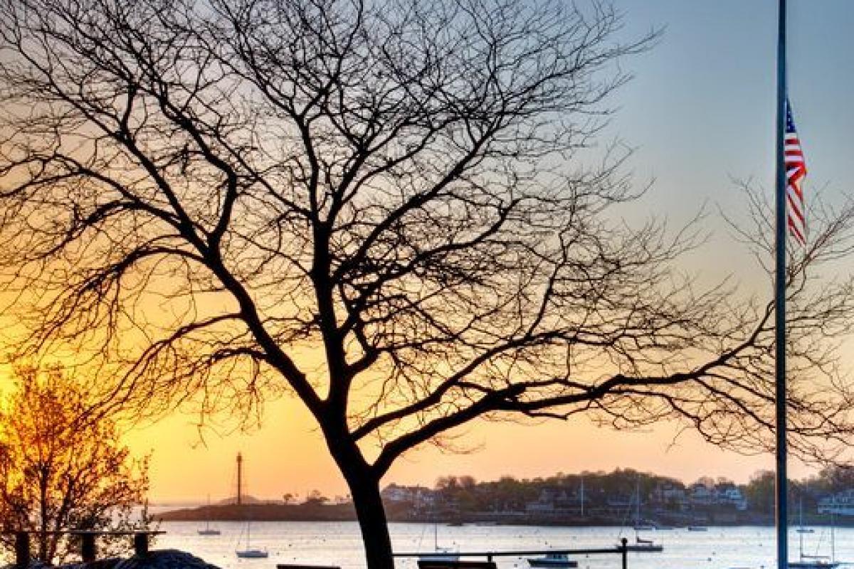 """Crocker Park at Dawn"" (Photo by Rob Kipp)"