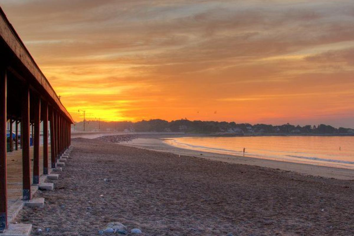 """Devereux Beach"" (Photo by Rob Kipp)"
