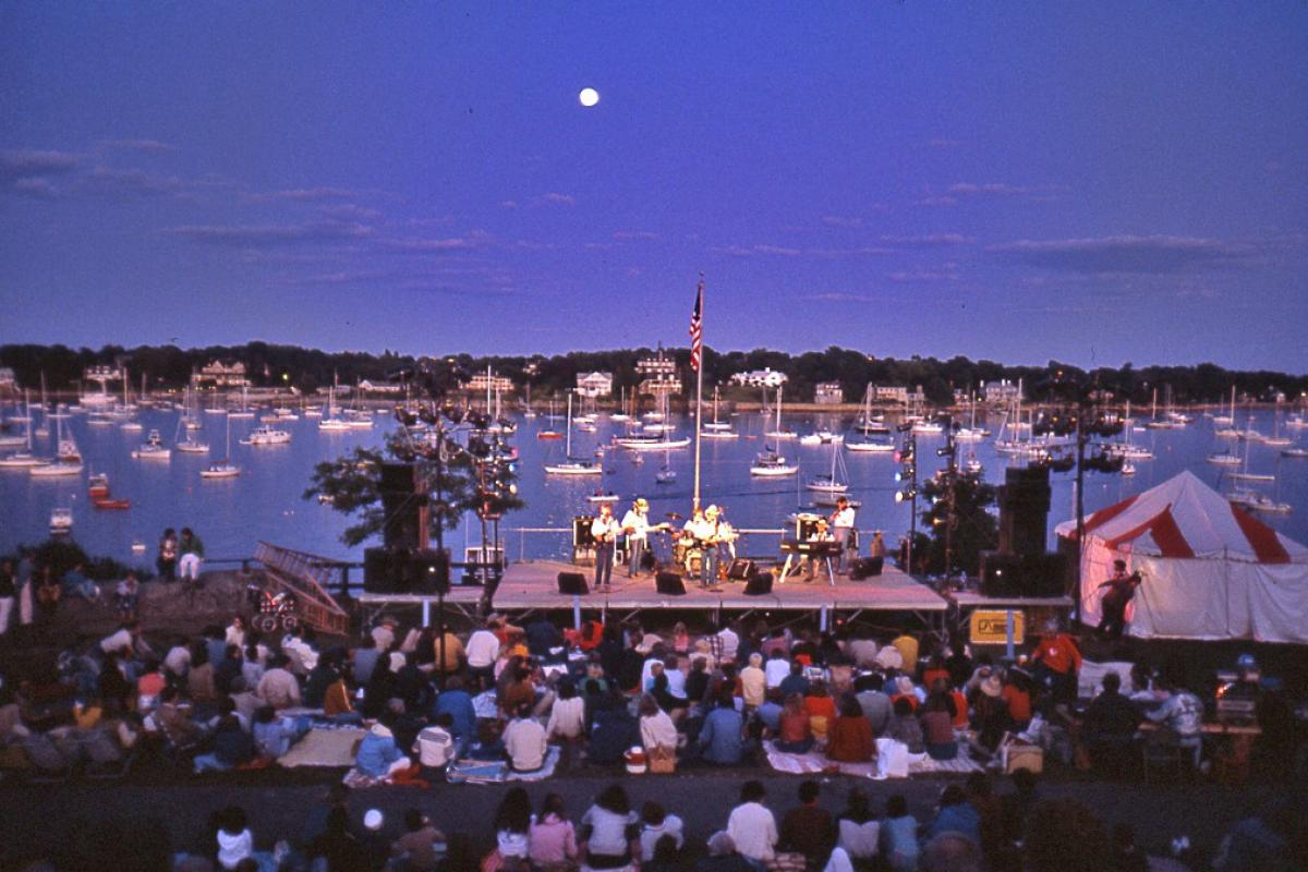 """Concert at Crocker Park"" (Photo by Herb Goldberg)"