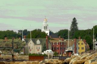 Scene from Harbor of Historic Marblehead