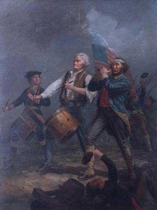 """Marblehead's """"The Spirit of 76"""" Painting"""